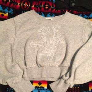 Garage Crop Sweatshirt